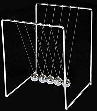 Newtons Wiege-Stil Quadratisch Edelstahl Tisch Dekoration Basteln, Kleine Ornamente , 112mm*105mm*135mm