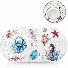 NewTsie Antirutschmatte für die Badewanne,