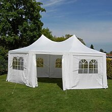 Nexos DELUXE Zelt hochwertiges Festzelt Pavillon
