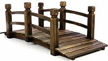Nexos GH35013 Holzbrücke mit Geländer