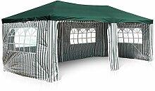 Nexos GM36076 PE-Pavillon Partyzelt mit 4