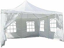 Nexos Hochwertiges Festzelt Partyzelt Pavillon 4 x