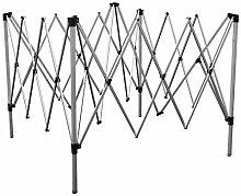 Nexos Klapp Faltpavillon Rahmen 3 x 6m Gestell