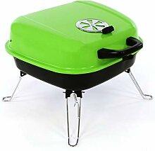 Nexos Mini Koffer-Grill Holzkohlegrill für Garten