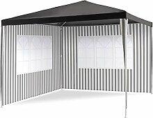 Nexos Pavillon 3x3 m in PE Plane 100g/m² + 2