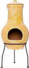 Nexos Terrassenofen Mexico-Ofen Tonofen 30 x 77 cm