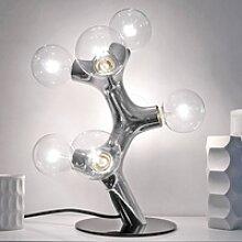 next DNA Table - Designer-Tischleuchte, chrom