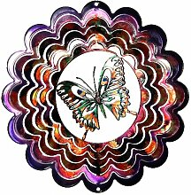 Next Innovations eksbflypp violett Schmetterling Kaleidescope Eycatcher, klein