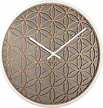 NexTime große Designer Wanduhr Bella Mirror,