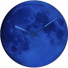 NeXtime Wanduhr Blue Moon