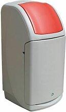 Nexus Abfallbehälter 140 l   Metall   Certeo