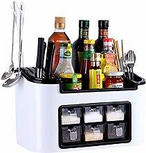 NFLOBD Küchen Racks Multifunktionsküchen Racks