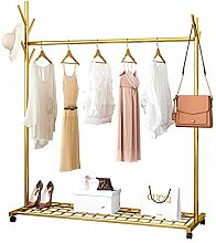 NgMik Kleiderstange Gold Kleidung, Kleidungsstück