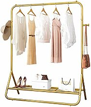 NgMik Kleiderstange Gold Metal Bekleidungs- und
