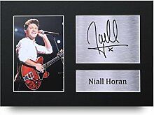 Niall Horan Signed A4Gedruckt Autogramm, One