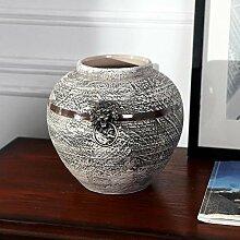 Niaofeces Keramik Blumenvase Blumentisch Aus