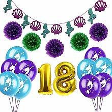 Nibesser Geburtstagsdeko Happy Birthday Girlande