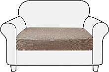 NIBESSER Sofa Sitzkissenbezug 1/2/3/4 Sitzer High