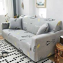 NIBESSER Sofabezug elastische Stretch