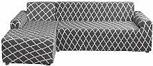 NIBESSER Sofabezug Sofaüberwürfe für L-Form