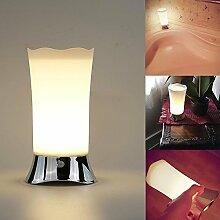 NiceEshop Tischlampe mit Bewegungssensor,