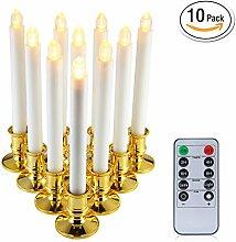 niceEshop(TM) 10PCS Elektrische Kerze, Fenster