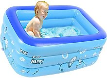 Nicejoy Aufblasbare Badewanne Kinder Planschbecken