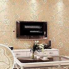 Nicht Aus Tapete, Garten Mit Blumen Schlafzimmer Tapeten, Wohnzimmer Tv Hintergrund Wall - Tapete,Hellrosa