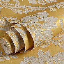 Nicht Tapete,Schlafzimmer gewebt,Hochzeit,Wohnzimmer TV,Hintergrund,Hintergrundbild,europäischen Stil Damaskus Tapeten,Golden
