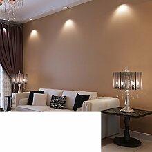 Nichtgewebte Gewebe einfarbigen Tapete/Brown Tapete/Atmosphärische Wohnzimmer Schlafzimmer Tapete/Teppichboden Tapete-F