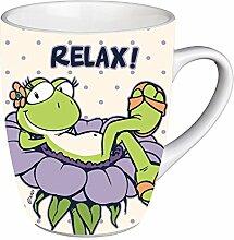 Nici 35687 Tasse Relax aus Porzellan