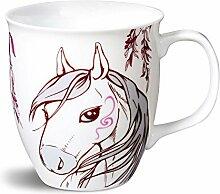NICI - 38722 Pferde Tasse Porzellan 9,5x10cm