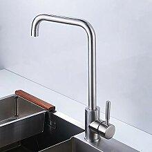 Nickel gebürstet Küchenarmatur Moderne