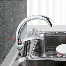 Nickel gebürstet Küchenarmatur Spüle