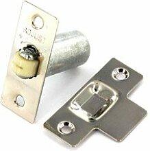 Nickel Versilbert verstellbar Rollenschnäpper, Tür mit Schrauben