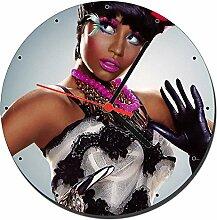 Nicki Minaj Wanduhren Wall Clock 20cm