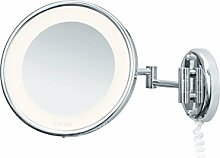 Nicol 4024200 Jenny Wandspiegel mit LED-Beleuchtung