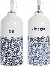 Nicola Spring Flaschen für Essig und Öl -