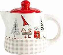 Nicola Spring Weihnachts Teekanne - Neuheit