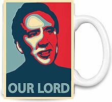 Nicolas Cage Our Lord Kaffee Becher