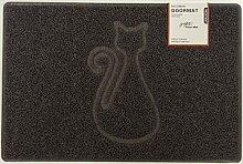 Nicoman KATZE Geprägt Fußmatte-(Geeignet für