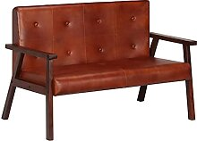 Nicoone Sofabank 2-Sitzer Sofa Sessel Bank