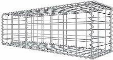 Niederberg Metall Gabione 100x30x30 Steingabione