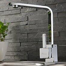 Niederdruck Einhebel Küchearmatur Spültischarmatur Waschtisch Armatur Wasserhahn Mischbatterie für Küche N62