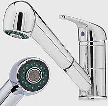 Niederdruck Küchen Wasserhahn / Spültisch Brause Armatur / KÜCHEN Waschtisch Armatur / Küchenarmatur 64