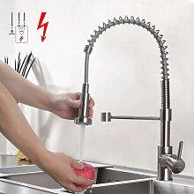 Niederdruck Küchenarmatur Edelstahl Gebürster