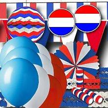 Niederlande Partydeko Grundausstattung