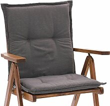Niederlehner Sessel Auflagen Rio 50318-610 in uni taupe 98 x 49 x 6 cm (ohne Stuhl)