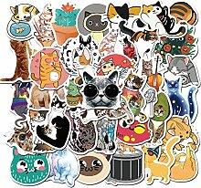 Niedliche Katzen Tier Graffiti Aufkleber für