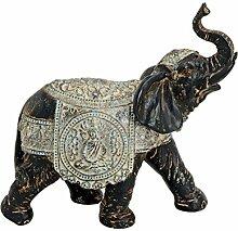 Niedliche kleine Zierfigur ~ indischer Elefant ~